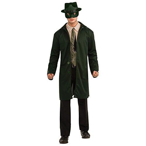 [GSG The Green Hornet Adult Mens Superhero Halloween Costume] (Green Hornet Costume Men)