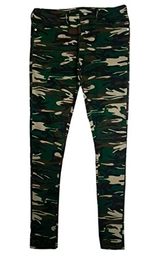 B -  Jeans  - Donna camouflage L