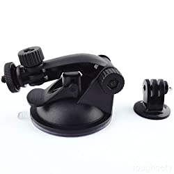 Toughsty® Car Suction Cup Mount with Tripod Adapter for GoPro HD Hero 3+ 3 2 1 Camera