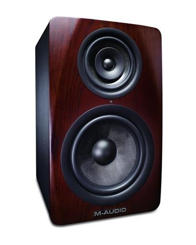 M-Audio M3-8 3-Way Active Studio Monitor Speaker With 8-Inch Woven Kevlar Woofer (Single)