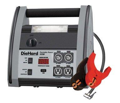 DieHard 71988 1150 Peak Amps 22AH Jump Starter / Portable AC-DC &