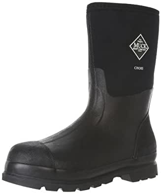 The Original MuckBoots Adult Chore Mid Boot,Black,Men's 5 M/Women's 6 M