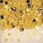 14g x 1 Gold Star confetti - fab gold...