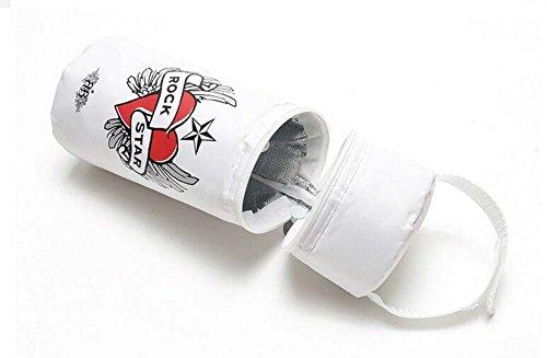 Isolé bébé / enfants Bouteille Tote Bag Portable Fashion Biberon Sac Blanc