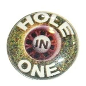 Lucky 2-in-1 Ball Marker Golf Hat Clip Hole In One