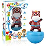 Smiles Creation Happy Circus Pony Roly Poly Tumbler Toys For Babies