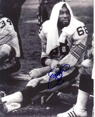 Signed Greenwood Photo - LC Steeler 8x10 - JSA Certified - Autographed NFL Photos at Amazon.com