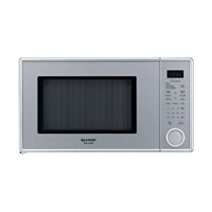 Sharp R-409YV R409 Series 1.3 Cubic Feet 1000-watt Microwave Oven, Family-Size, Pearl Silver at Sears.com