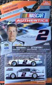 NASCAR Authentics, Great Racers,  Brad Keselowski #2 Blue Deuce Die-Cast Car - 1