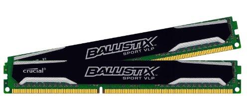 Ballistix Sport 32GB Kit (8GBx4) DDR3-1600 Very Low Profile UDIMM 240-Pin Memory BLS4K8G3D1609ES2LX0 (Low Profile Gtx 760 compare prices)