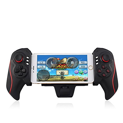 PYRUS Telescopic Wireless Game Controller Gamepad Joystick for Samsung iPhone iPod iPad Android Phone Tablet PC