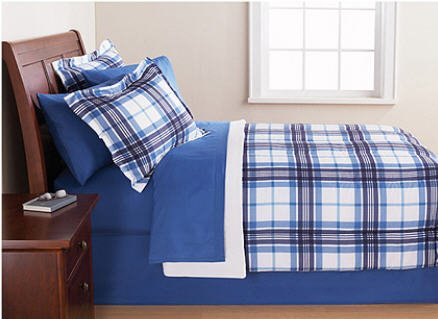 Boys Plaid Bedding 2014 front