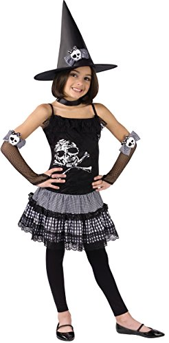 Girls Funky Punk Witch Costume