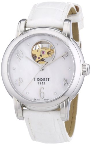 Tissot Damen-Armbanduhr LADY HEART T0502071611600