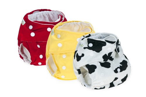 3 Reusable Cloth Nappy Pack