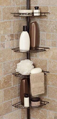 Shower caddy corner shelf organizer bath storage bathroom - Anna s linens bathroom accessories ...