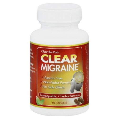 Clear Products Clear Migraine -- 60 Capsules