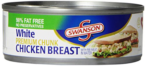 Swanson White Premium Chunk Chicken Breast, 4.5 Ounce (Pack of 24) (What Is Meat Sauce compare prices)