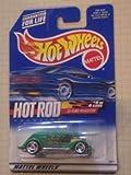 Hot Rod Magazine シリーズ #4 1933 Ford (フォード) Roadster Razor Wheels #2000-8 Collectible コレクターカー Mattel (マテル) Hot Wheels (ホットウィール) 1:64 スケール ミニカー ダイキャスト 車 自動車 ミニチュア 模型 (並行輸入)