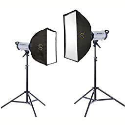 Flashpoint Softbox Duo-Light 320M 2 MonoLight Kit