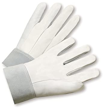 West Chester 9960 Goatskin Leather Welder Glove, Safety Cuff