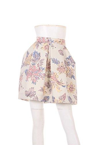 Amazon.co.jp: (リリーブラウン)Lily Brown フラワープリントミドルスカート: 服&ファッション小物