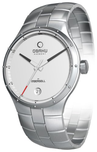 Obaku By Ingersoll Ladies White Dial Stainless Steel Bracelet Watch