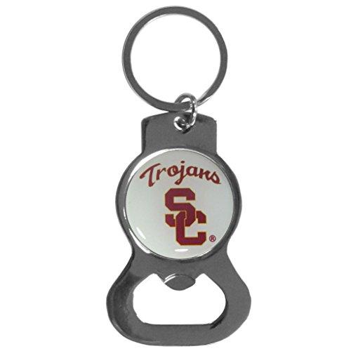 NCAA USC Trojans Bottle Opener Key Chain (Usc Bottle Opener Keychain compare prices)