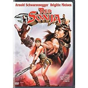 Click to buy Arnold Schwarzenegger Movies: Red Sonja from Amazon!