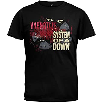 system of a down mens hypnotize t shirt. Black Bedroom Furniture Sets. Home Design Ideas
