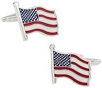 American Flag Cufflinks by Cuff-Daddy