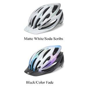 Giro Women's Sapphire Cycling Helmet (Matte White/Soda Scribs, Medium)
