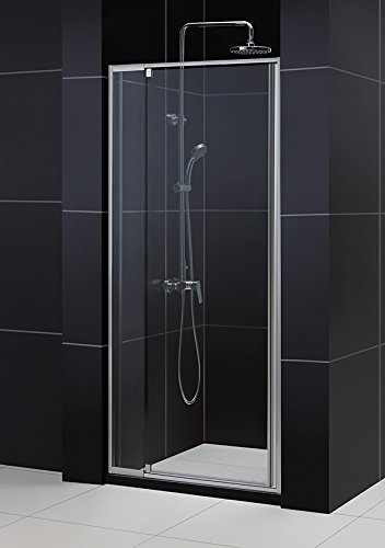 Great Features Of DreamLine Flex 32 to 36 in. Frameless Pivot Shower Door, Chrome Finish, SHDR-22327...