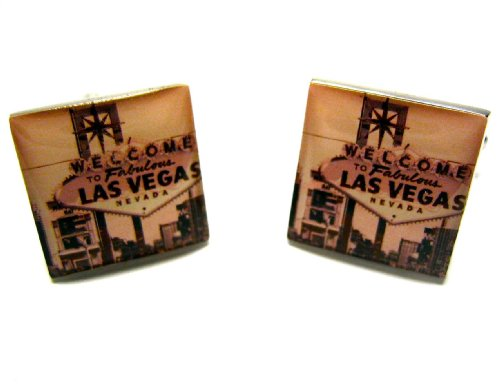 Welcome To Las Vegas Sign Cufflinks