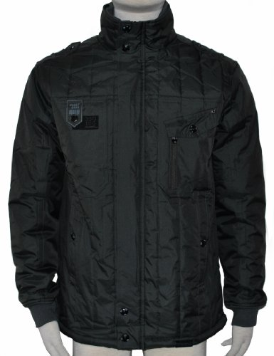MENS QUILTED SHOTGUN STYLE JACKET - SMALL - TO FIT 40