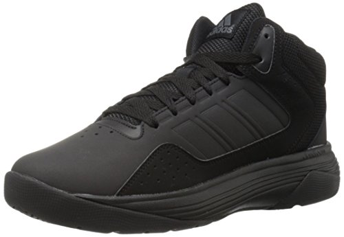 Adidas Performance Men's Cloudfoam Ilation Mid Basketball Shoe, Black/Black/Onix, 11.5 M US