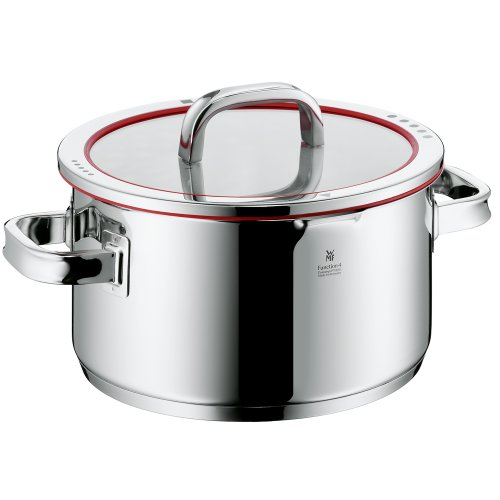 WMF Function 4 High Casserole with Lid, 6-Quart (Kitchen)