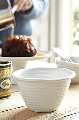 Sophie Conran For Portmeirion Pudding Basin, White, Set of 4 from Portmeirion