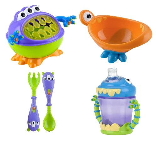 Nuby Monster Baby Feeding Set - 1