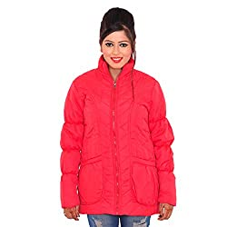 Be-Beu Full Sleeve Striped Women's Jacket (Large)