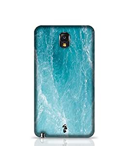 Case Cover for Samsung Galaxy Note 3 Marble Sea Surface Texture Back Cover for - Samsung Multicolor