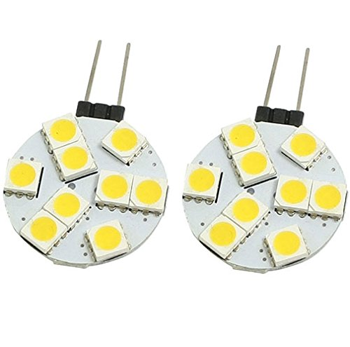 {Factory Direct Sale} (Pack Of 10) G4 9 Led 5050 Smd Ac 12V Warm White Spot Home Indoor Office Hotel Popular Hot Light Bulb Lamp Energy Saving High Power