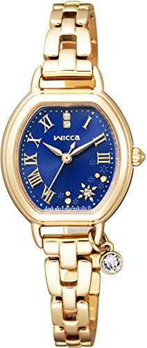 [シチズン]CITIZEN 腕時計 wicca ウィッカ ソーラーテック ブレスライン  【限定2,000本】 KP2-523-71 レディース