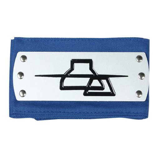 NARUTO Cosplay Accessories NARUTO Blue Iwamokakure Ninja Headband