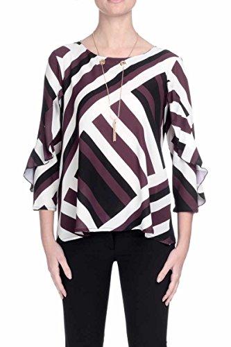 Camicia Ulinda Manica 3/4 con Gale Nera RDA603009013- Relish, M