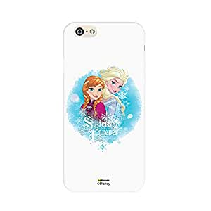 Hamee Disney Princess Frozen Official Licensed Designer Cover Hard Back Case for iPhone 6 Plus / 6s Plus (Anna Elsa / Sisters Forever)