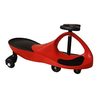 Blazing Red Rolling Coaster the Wiggling Wiggle Race Car Premium Scooter