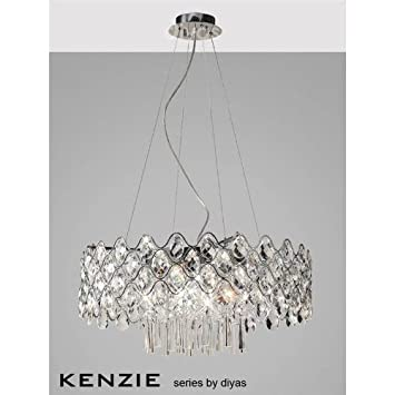 Kenzie Pendant 16 Light Polished Chrome/Crystal   #Special Offers