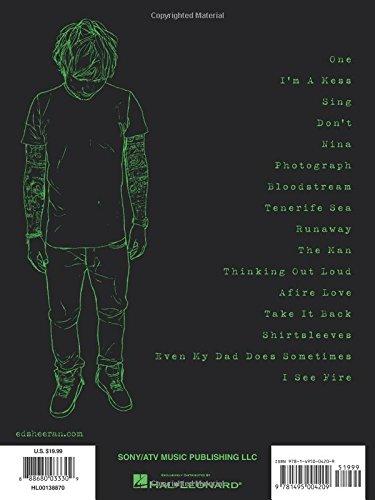 Ed Sheeran: X (Guitar Recorded Versions)