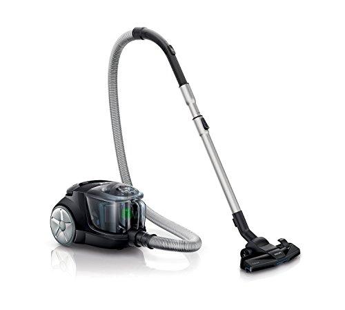 Philips-PowerPro-Compact-FC847791-Staubsauger-ohne-Beutel-EEK-B-EPA10-Filter-grau